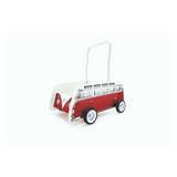 VW T1 Bus First Steps Baby Walker - Red