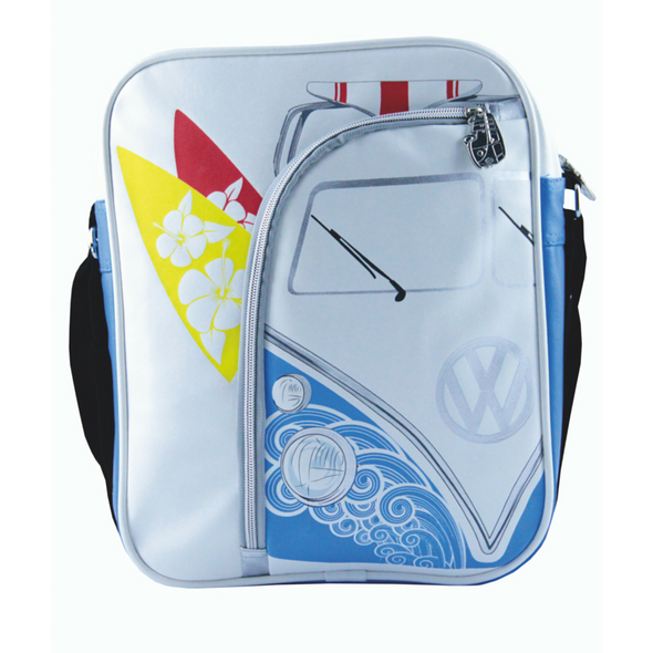 Volkswagen Camper Deluxe Cross-Body Tablet Bag-Surfing