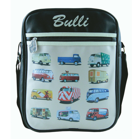 Bulli Bus Parade Cross-Body Tablet Bag