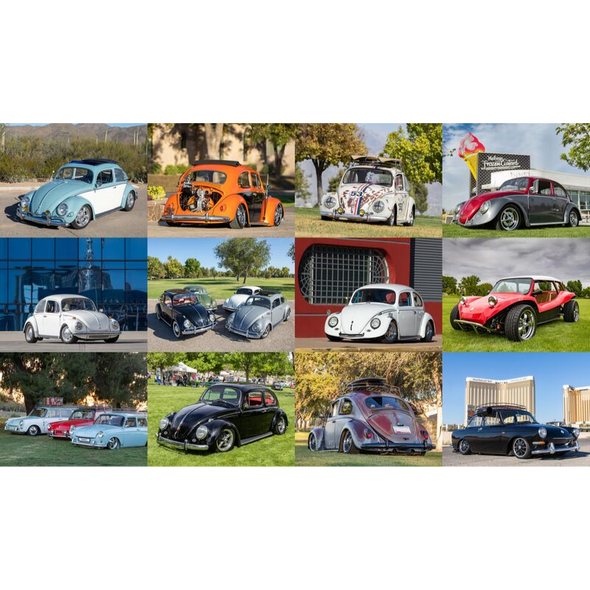 Volkswagen 2020 Calendar - All VW's by Eric Arnold