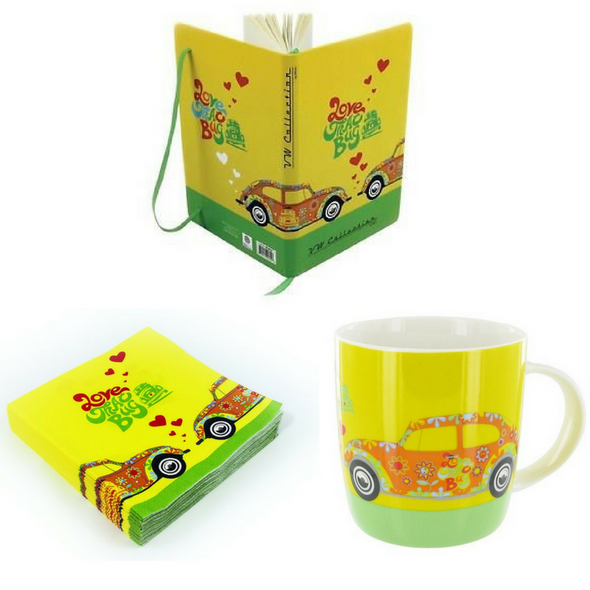 VW Beetle 'Love That Bug' Gift Set