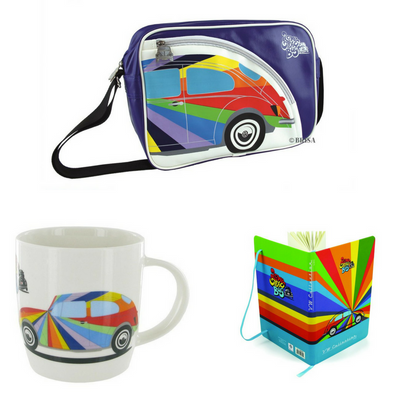VW Beetle 'Rainbows' Gift Set
