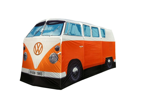 Volkswagen Bus Adult Tent-Orange - Cool VW Stuff  - 1