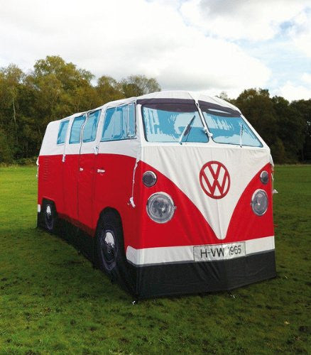 ... Volkswagen Bus Adult Tent-Red - Cool VW Stuff - ... & Volkswagen Bus Campervan Full Size Tent-Red by Monster Factory VWR1