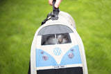 VW Campervan Small Pet Carrier - Blue
