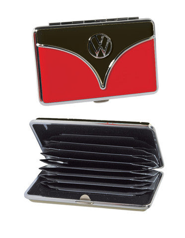 VW Wallet/Business Card Holder-Red & Black - Cool VW Stuff  - 2