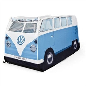 Cool Vw Stuff Bus Kid S Pop Up Tent Blue Vwkb1 Monster Factory