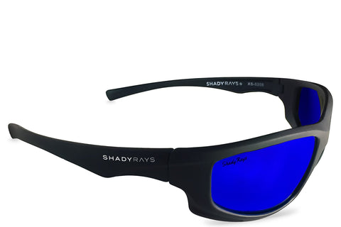 Shady Ray's X Series - Black Royal Polarized Sunglasses by Cool VW Stuff