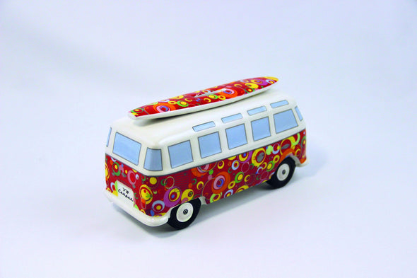 VW Bus Money Bank with Surfboard-Spirals - Cool VW Stuff  - 3