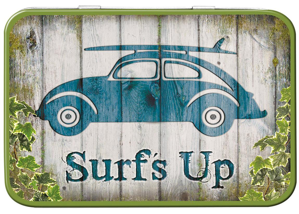 VW Beetle Surf's Up Keepsake Tin - Cool VW Stuff  - 1