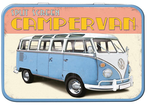 VW Retro Camper Keepsake Tin - Cool VW Stuff  - 1