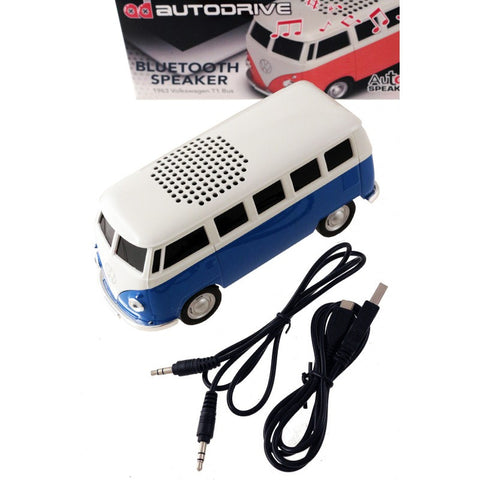 1963 VW T1 Bus Blue Tooth Speaker-Blue - Cool VW Stuff  - 3