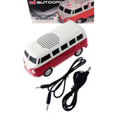 1963 VW T1 Bus Blue Tooth Speaker-Red - Cool VW Stuff  - 3
