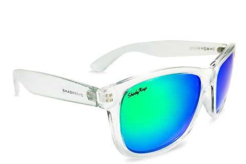 Shady Ray's Signature Series - Emerald Ice Polarized Sunglasses
