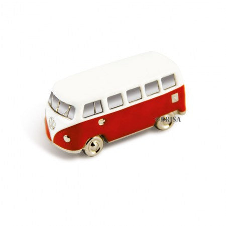 VW T1 Bus 3D Model Magnet-Red - Cool VW Stuff