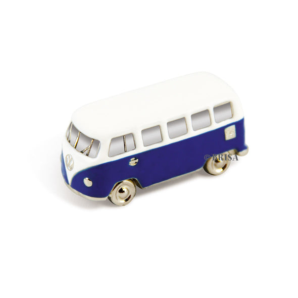 VW T1 Bus 3D Model Magnet-Blue - Cool VW Stuff  - 1