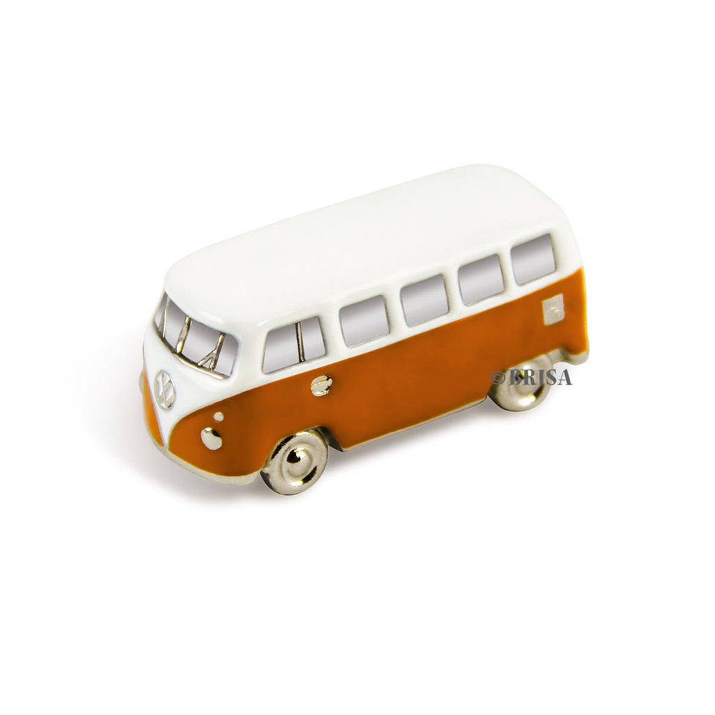 VW T1 Bus 3D Model Magnet-Orange - Cool VW Stuff  - 1