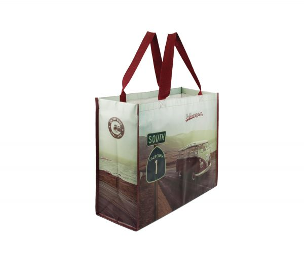 VW T1 Bus Shopper Tote Bag - Highway 1