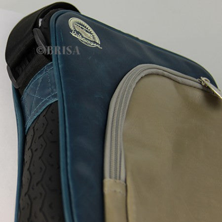 Officially Licensed Volkswagen Shoulder Bag with Tire Tread Edging-Blue - Cool VW Stuff  - 2
