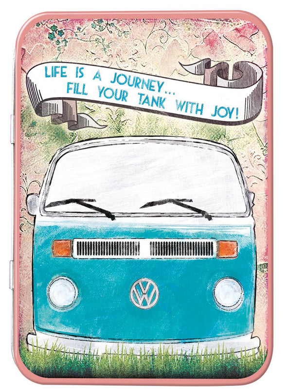 VW Life is a Journey Keepsake Tin - Cool VW Stuff  - 1