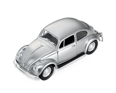 Troika 1967 VW Beetle Paperweight Matte Silver