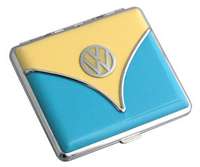 Cigarette Case-Blue & Beige Bus - Cool VW Stuff  - 2