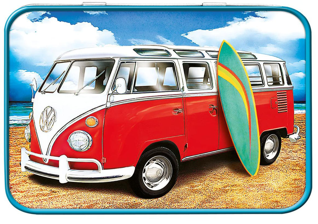 VW Samba Surf Keepsake Tin - Cool VW Stuff  - 1