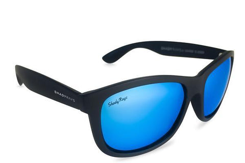 Shady Ray's Signature Series - Black Glacier Sunglasses by Cool VW Stuff