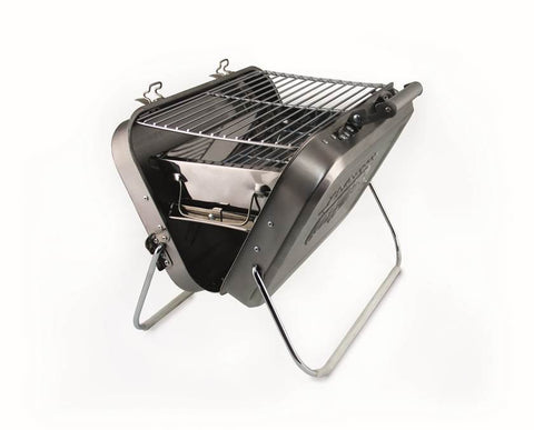 Stainless Steel Portable VW Suitcase Barbecue Grill