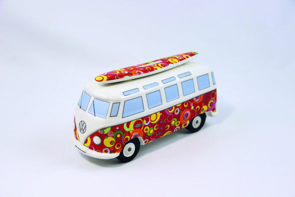 VW Bus Money Bank with Surfboard-Spirals - Cool VW Stuff  - 2