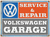 VW Garage Metal Wall Sign - Cool VW Stuff  - 1