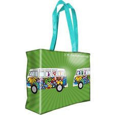 Tote Bag-Flower Power - Cool VW Stuff  - 2