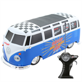 Volkswagen Van Samba Radio Control Vehicle - Blue & White - Cool VW Stuff  - 5