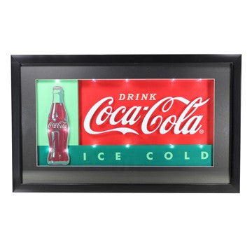 Retro Drink Coca Cola Coke 3D LED Lighted Sign Collectible Kitchen Décor