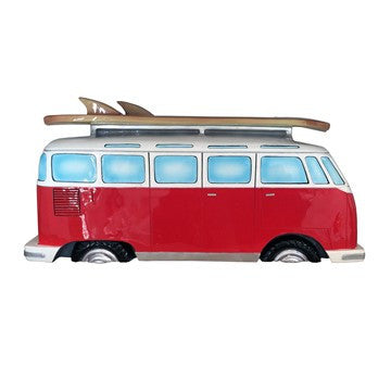 VW Bus Side Profile Wall Shelf - Cool VW Stuff