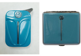 VW BEETLE LIGHTER AND CIGARETTE CASE GIFT SET-BLUE - Cool VW Stuff  - 1