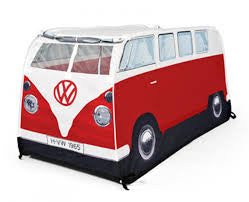 Kidu0027s VW Pop-Up Tent-Red - Cool VW Stuff - 1  sc 1 st  Cool VW Stuff & Officially Licensed Volkswagen Bus Tents by Monster Factory