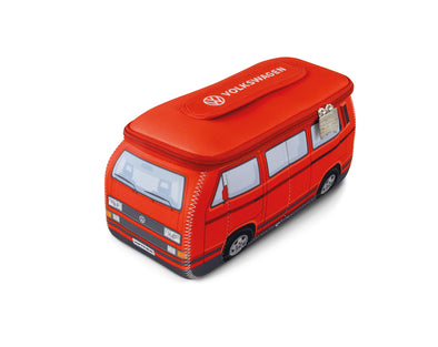 Volkswagen Vanagon T3 Bus 3D Neoprene Universal Bag - Red CT3NE41