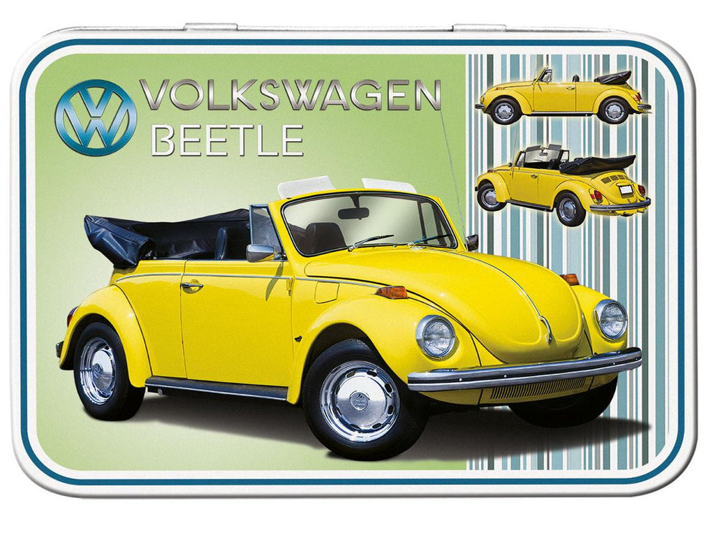 VW Beetle Cabriolet Keepsake Tin - Cool VW Stuff