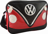 Camper Deluxe Shoulder Bag-Red & Black - Cool VW Stuff  - 1