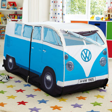 ... Kidu0027s VW Pop-Up Tent-Blue - Cool VW Stuff - ... & Cool VW Stuff Bus Kidu0027s Pop-Up Tent-Blue VWKB1 Monster Factory