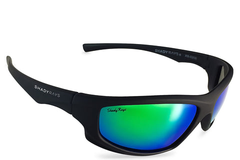 Shady Rays X Series - Black Emerald Polarized Sunglasses
