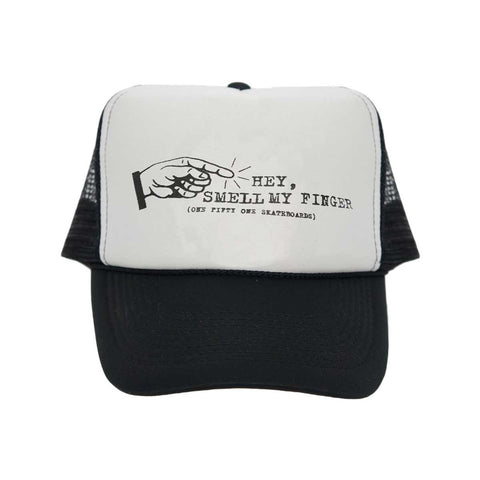 151 Decay Hat- Black/White