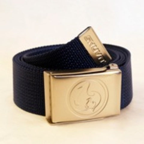 Shuvit Brand Mens Skateboard Box Frame Web Buckle Belt - Blue