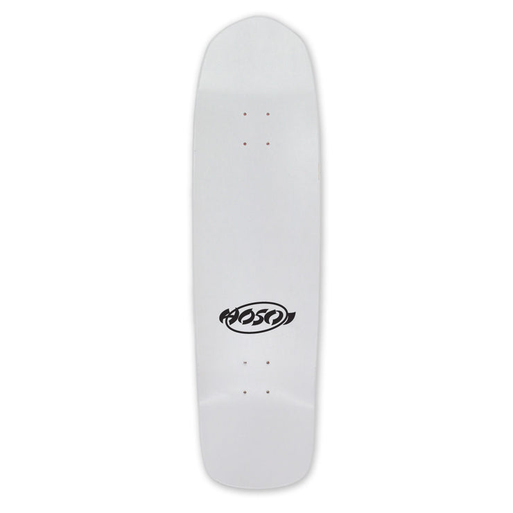 "Hosoi Skateboards Eddie Elguera Alley Cat Deck– 9""x32.75""- White- 2"