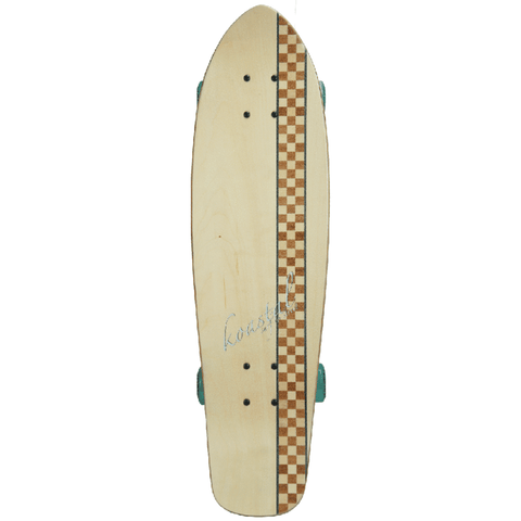 Koastal Checkered Stripe Light Mini Cruiser Complete