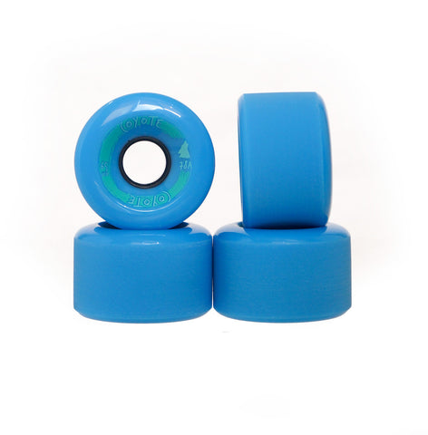 Coyote Wheels - Blue - 65mm Set