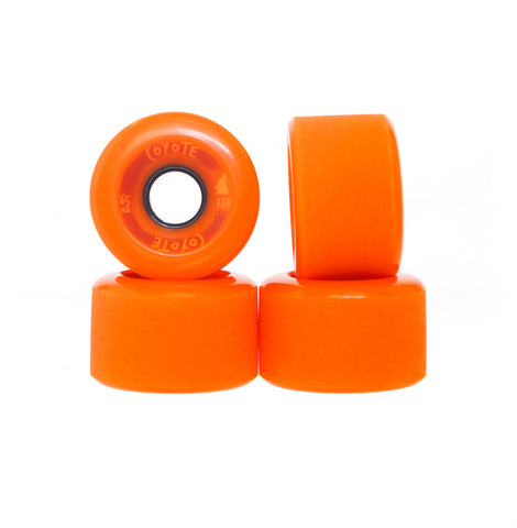 Coyote Wheels - Orange - 65mm - Set