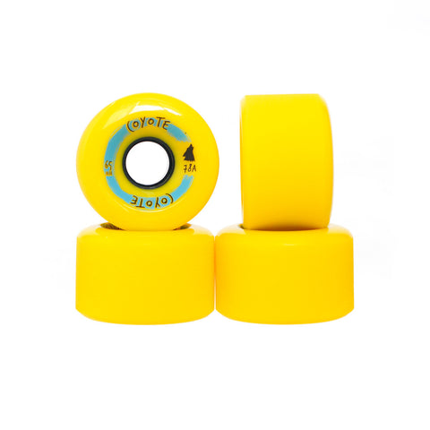 Coyote Wheels - Yellow - 65mm - Set