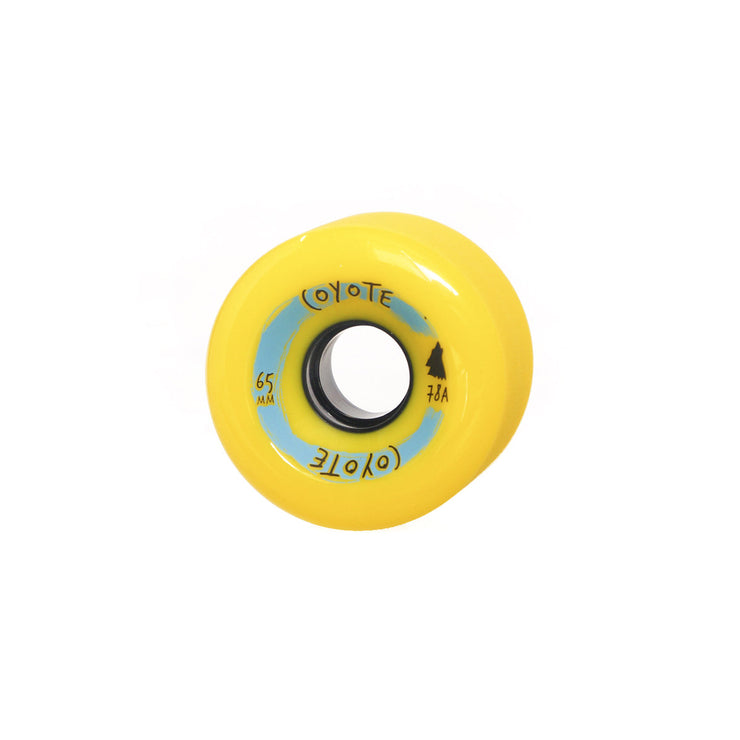 Coyote Wheels - Yellow - 65mm - Single